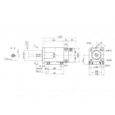DC servomotor 3PI12.06.04