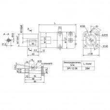 DC servomotor 3PI12.06