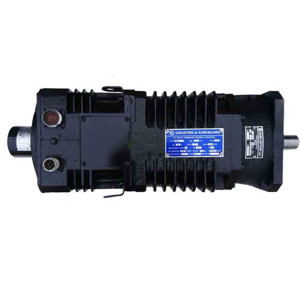Высокомоментный электродвигатель постоянного тока 4МТА-СК фото 1