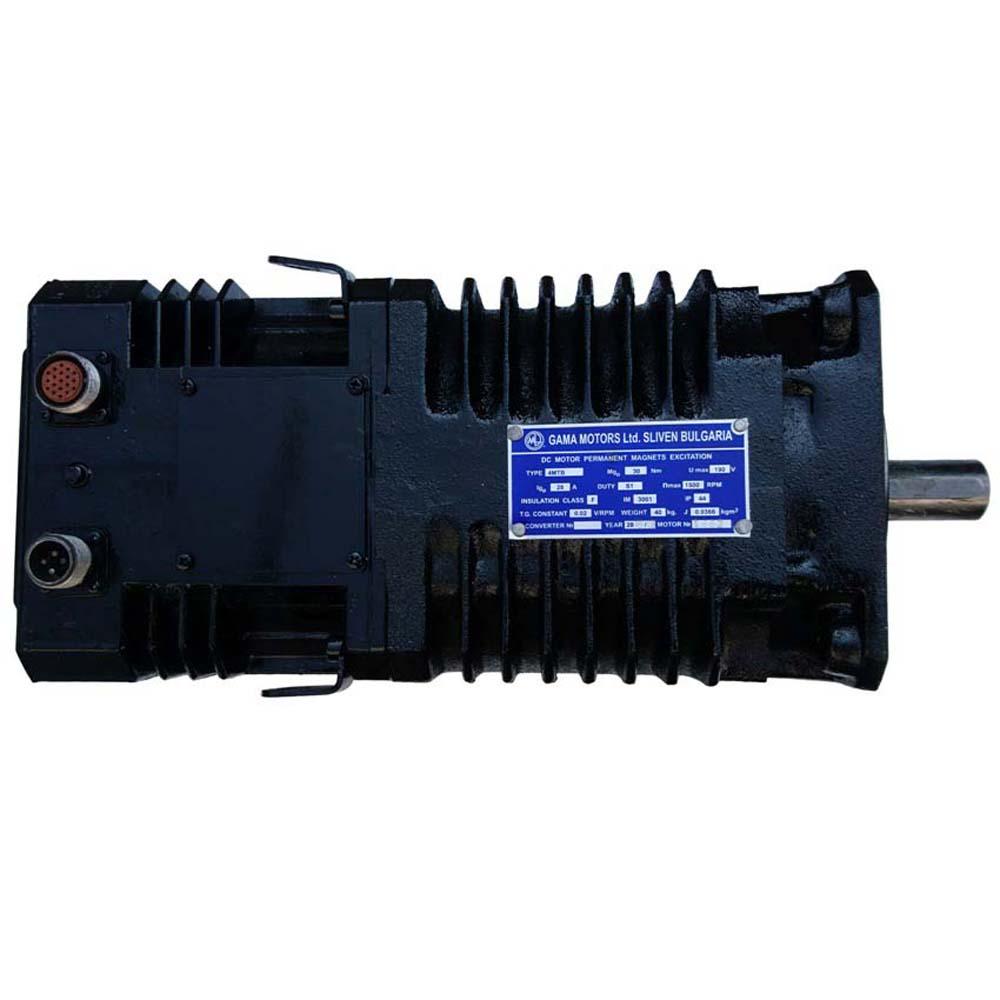Високомоментний електродвигун постійного струму 4МТВ  фото  1