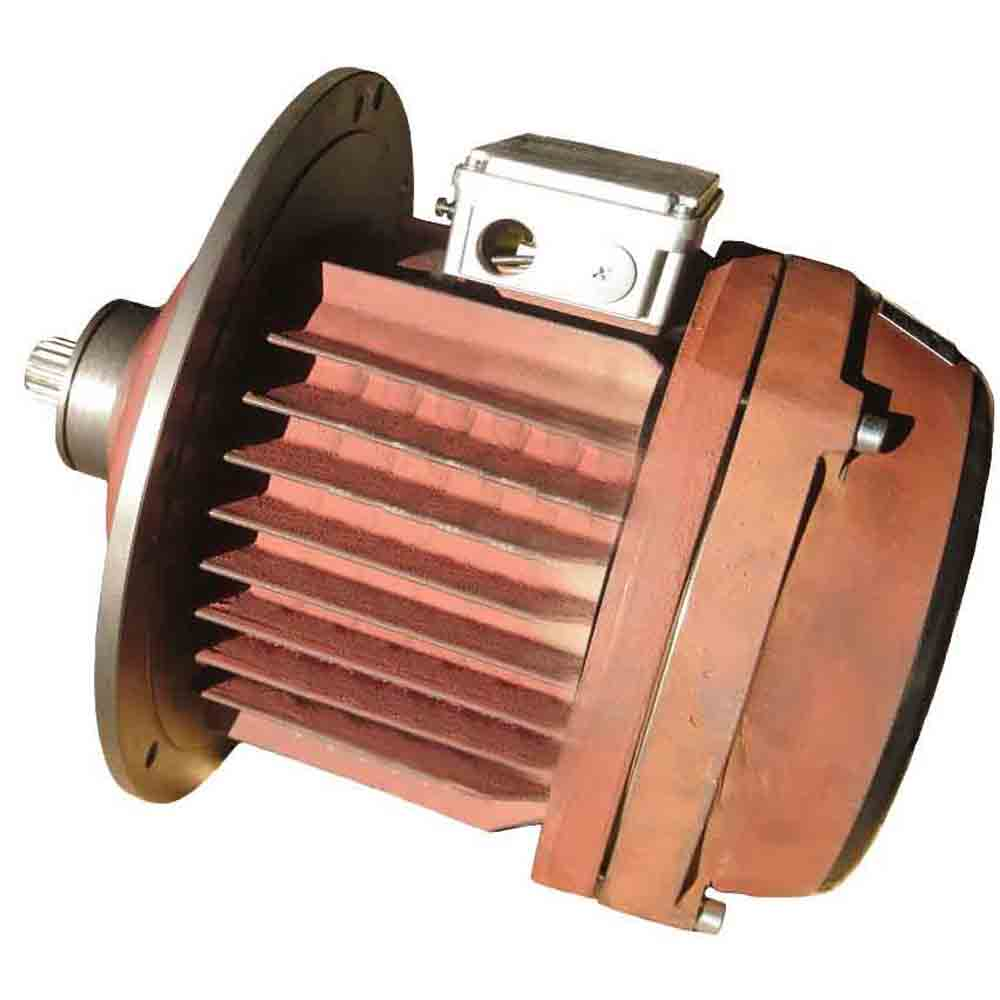 Asynchronous electric motor KGE 2412-6 foto  1