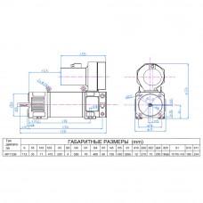 DC motor MP112M