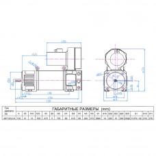 Електродвигун постійного струму МР132LCA