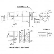 DC servomotor PC6.02