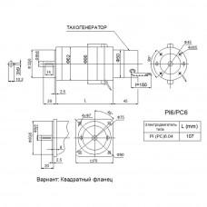 DC servomotor PC6.04