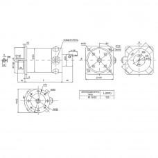 DC servomotor PI10.03