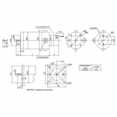 DC servomotor PI8.03