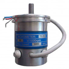 Tachogenerator T5-10-10V with its own bearing system